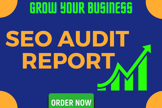 Portfolio for I will provide you an SEO audit report