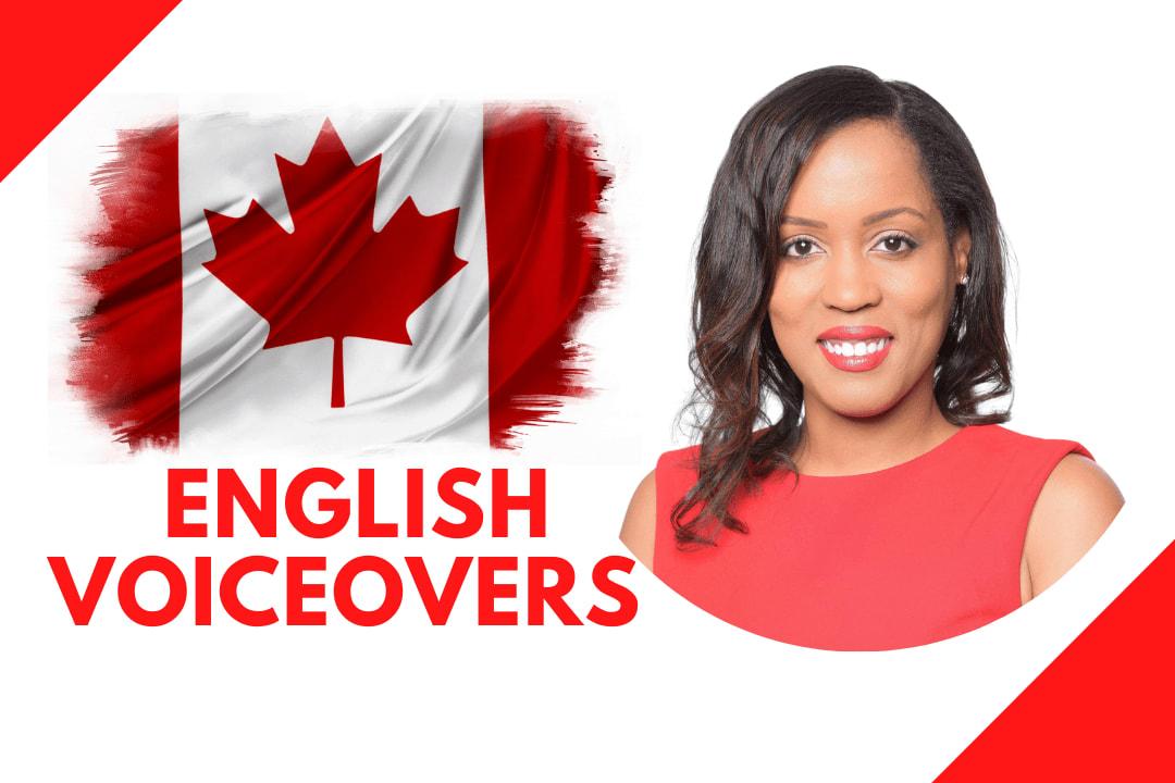 Portfolio for Warm, Upbeat Canadian Voice Over