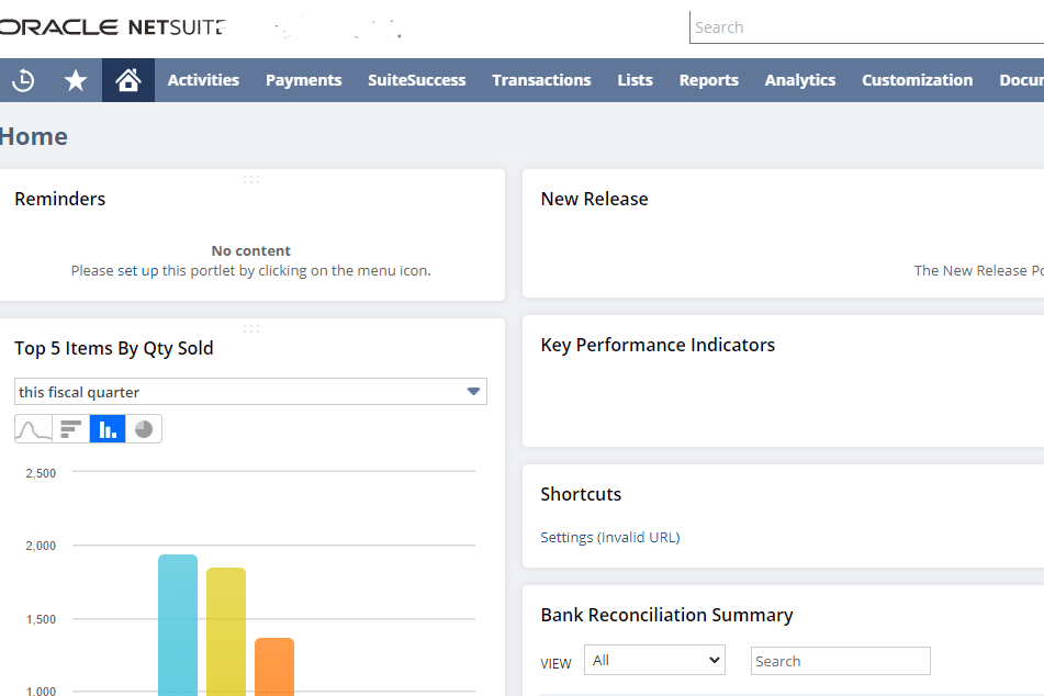 Portfolio for Senior Netsuite Developer