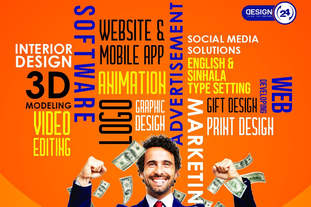 Portfolio for Software & Graphic Design Company