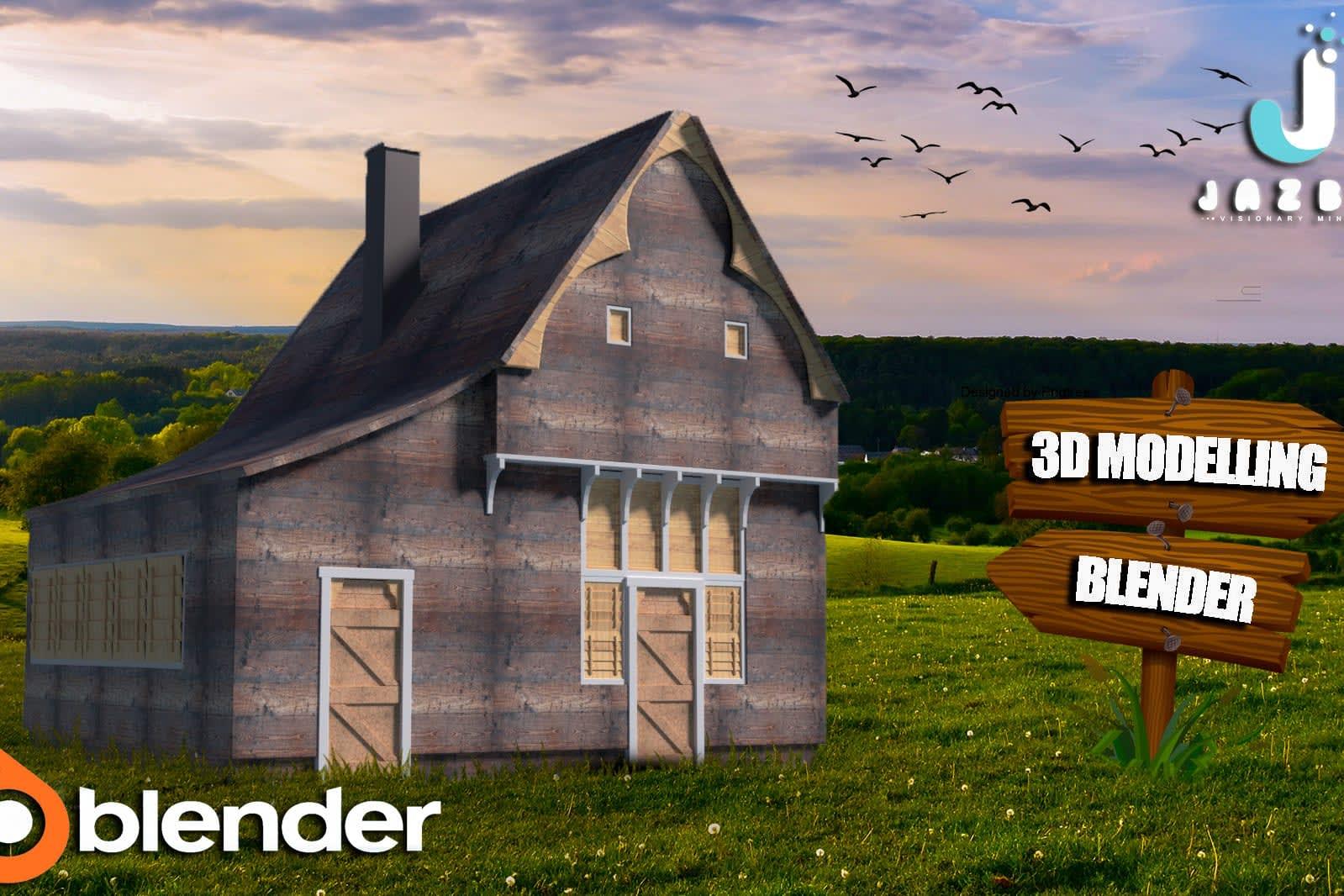 Portfolio for 3D Modeling In Blender