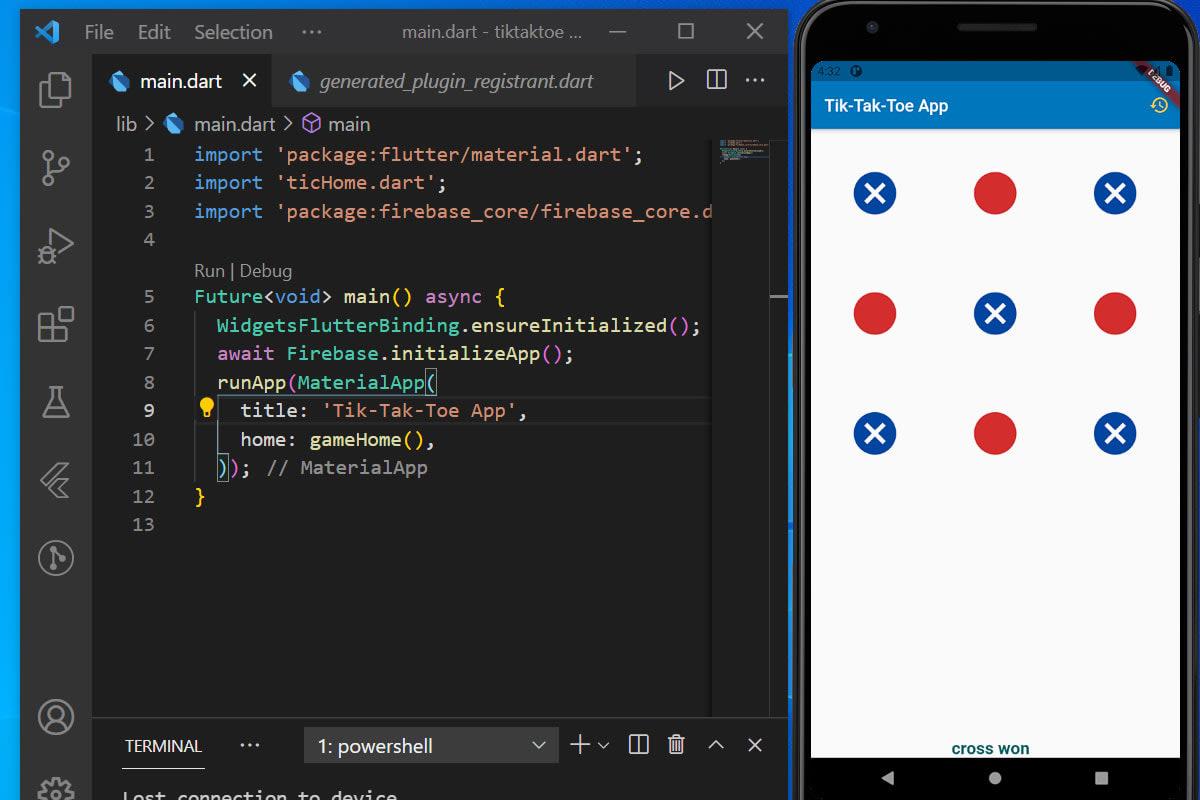 Portfolio for Flutter App Development