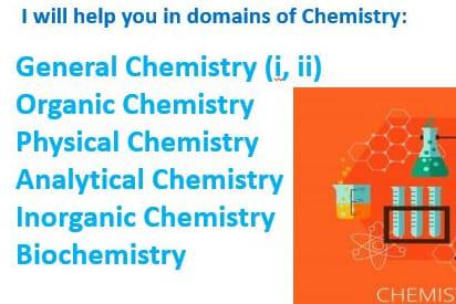 Portfolio for Chemistry Tutor and problem solver