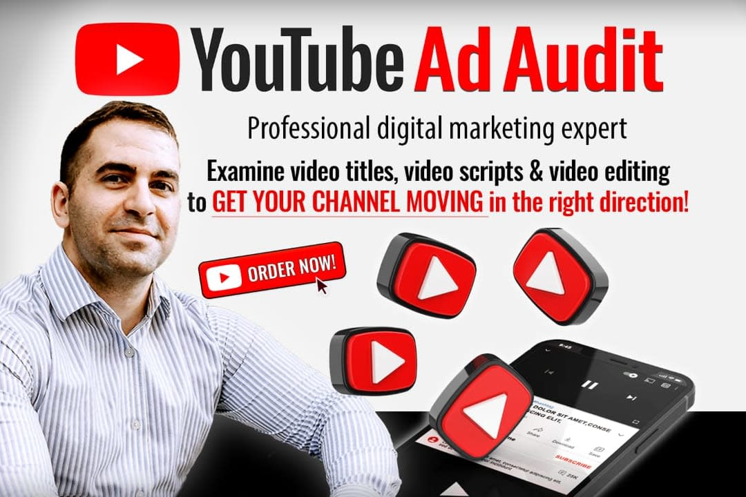 Portfolio for Audit your youtube ads for max revenue