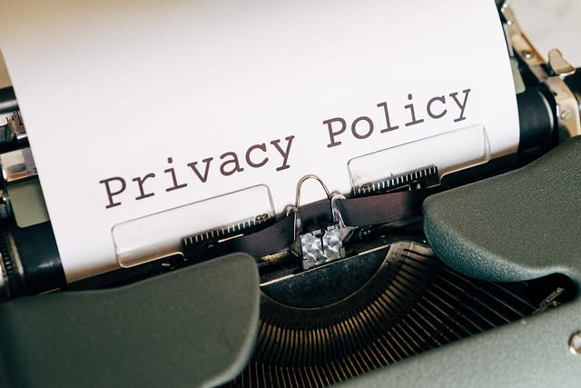 Portfolio for draft terms & conditions, privacy policy