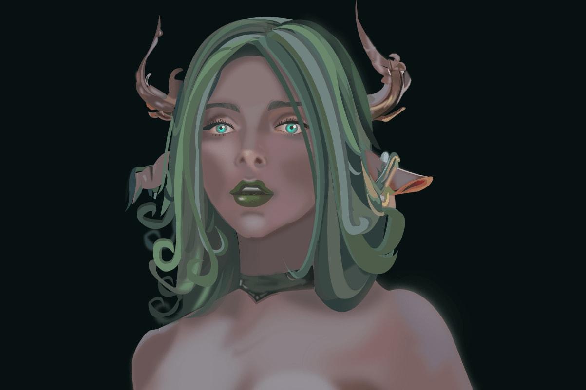Portfolio for Fantasy Character Design