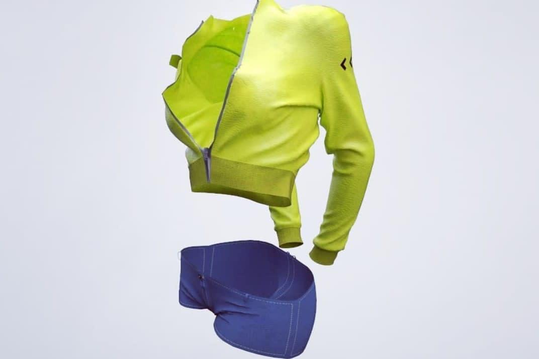 Portfolio for Cloth Modeling and Simulation
