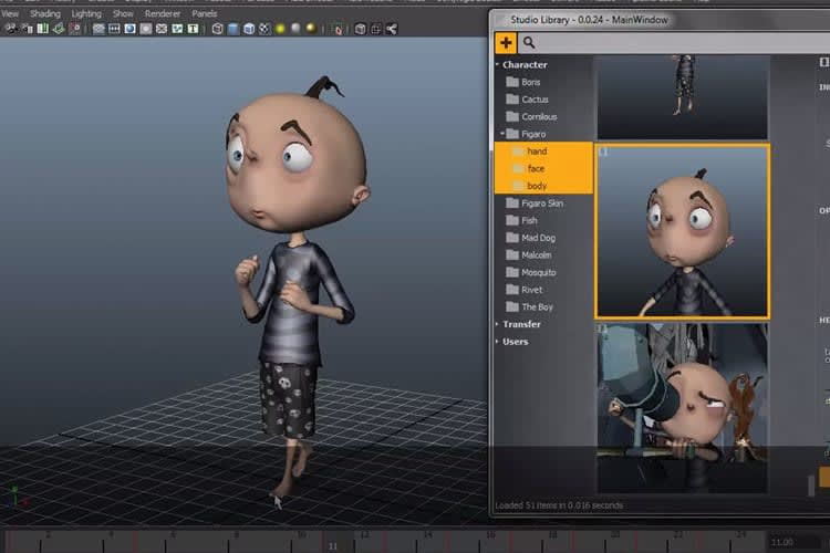 Portfolio for 3D Animation / Maya Autodesk