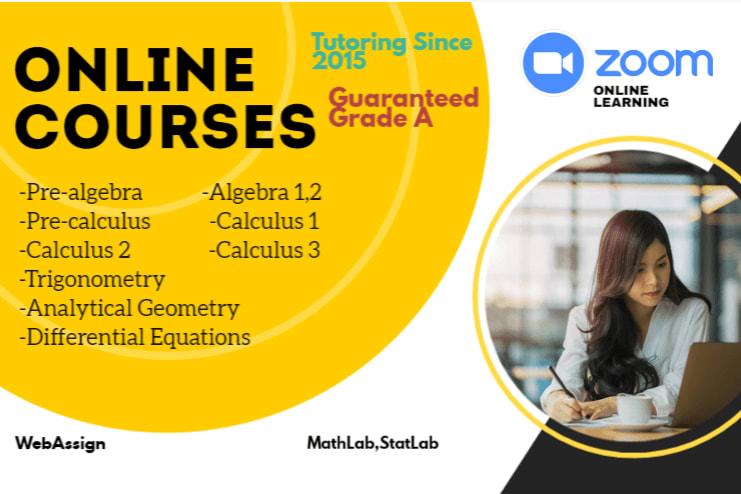 Portfolio for Mathematics Tutoring