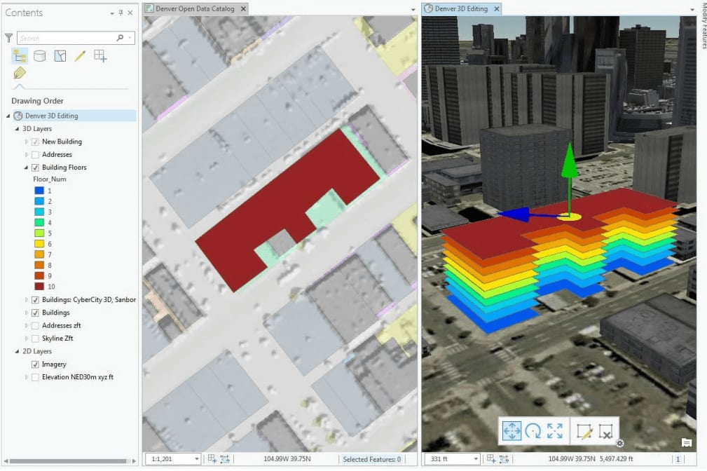Portfolio for Geospatial, ArcGIS development