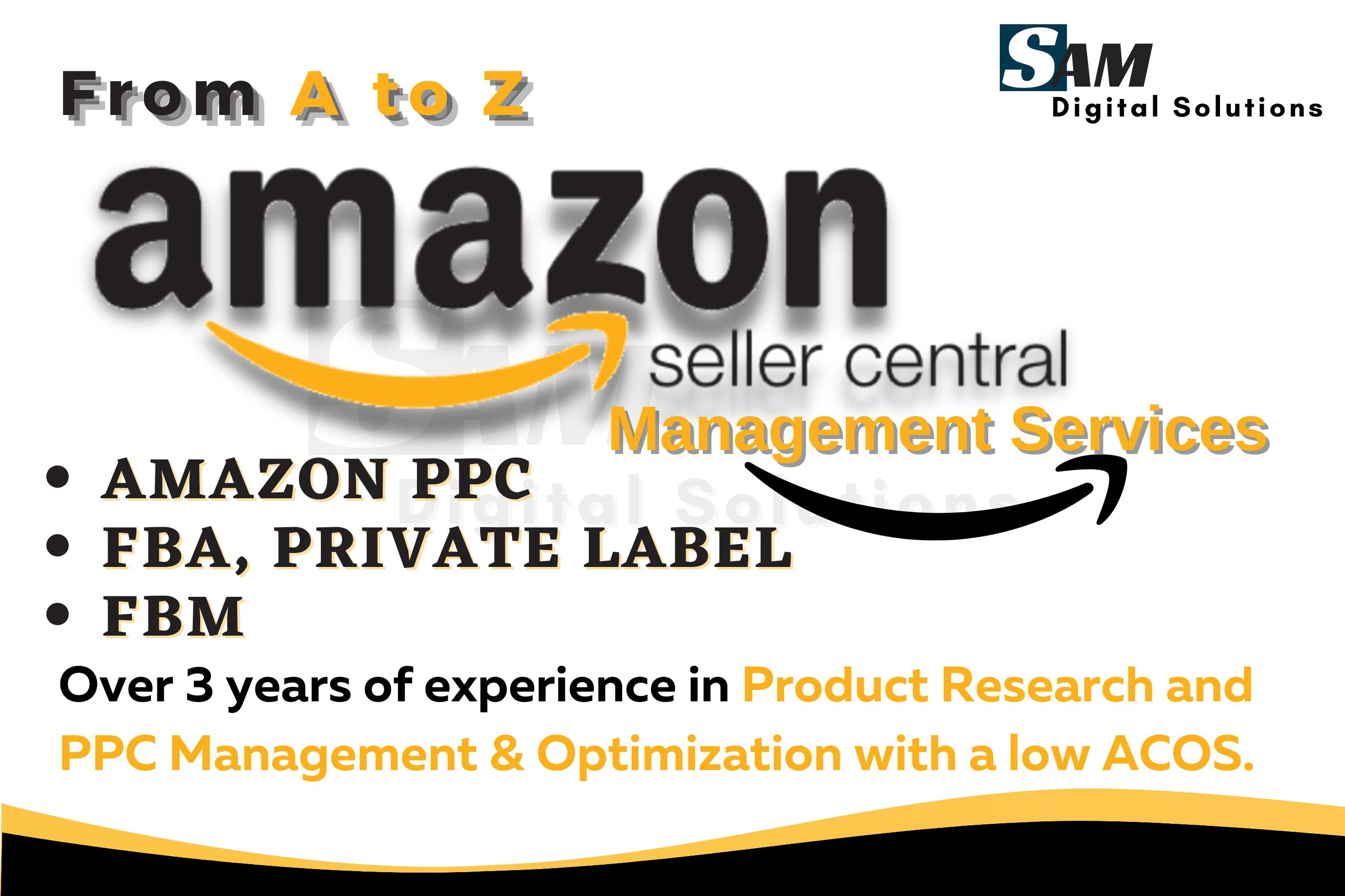 Portfolio for Amazon PPC, FBA,PL, Product Research(VA)
