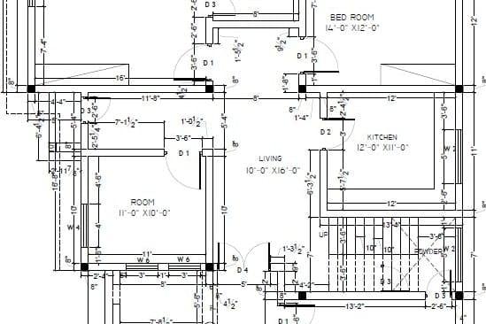 Portfolio for Architectural AutoCAD Draftsman