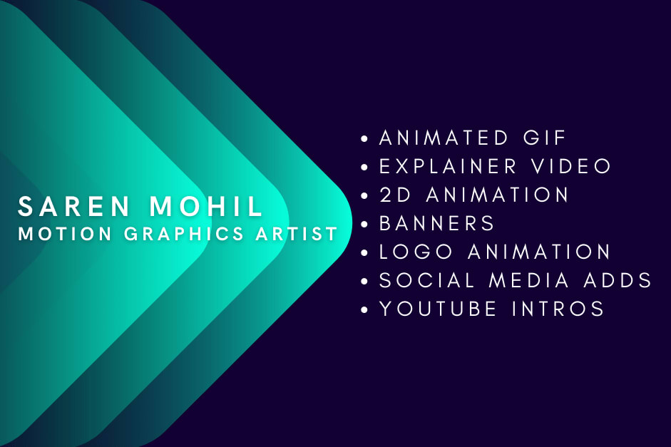 Portfolio for 2D Animated Gif & Explainer Video
