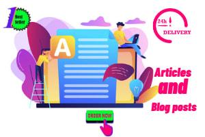 Portfolio for Amazon Affiliate articles, blog editing