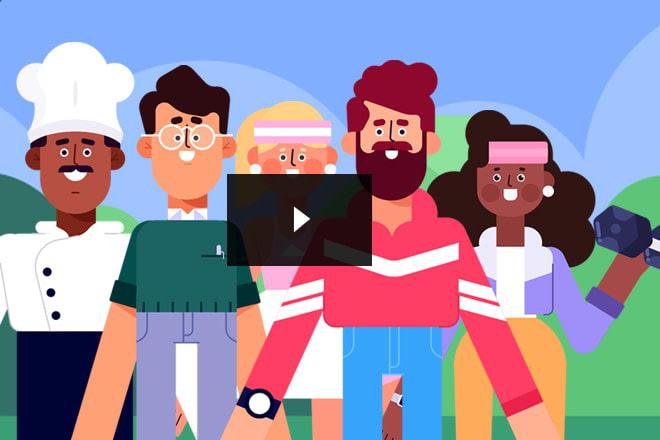 Portfolio for 2D Engaging Explainer Video