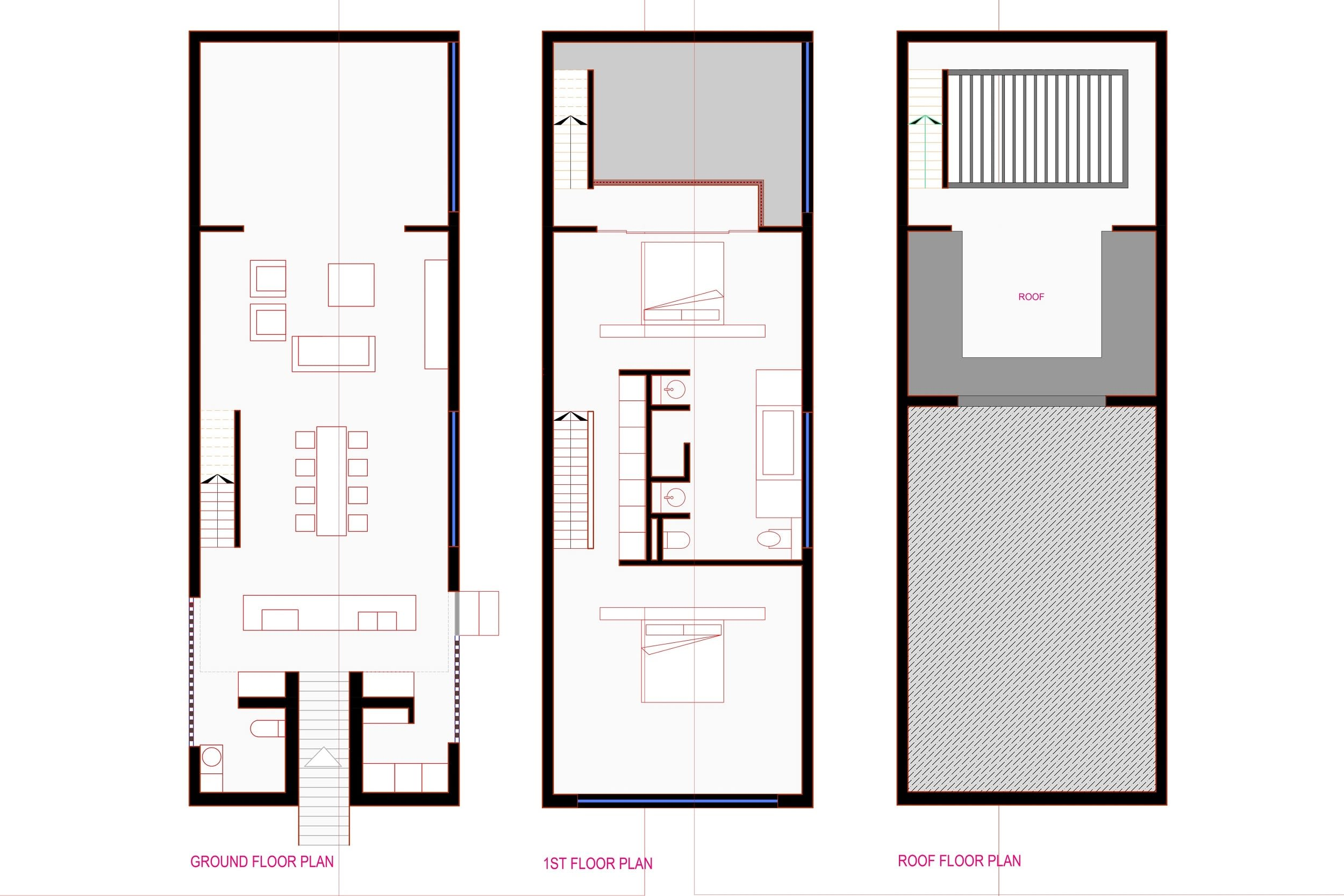 Portfolio for Draw any architecture drawing in AutoCad