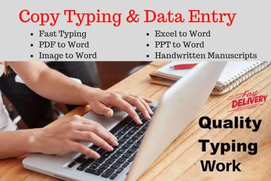 Portfolio for Writing, Translation, Typing