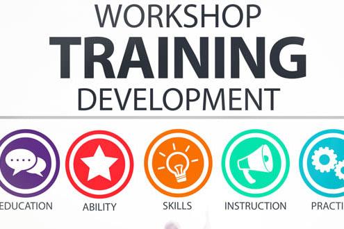 Portfolio for Creating training content