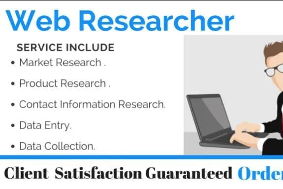 Portfolio for Internet Researcher