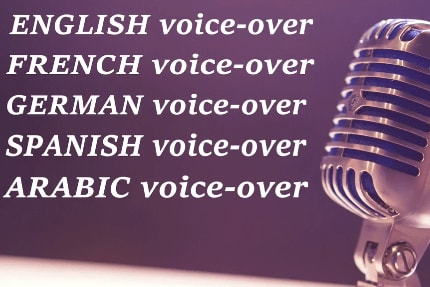Portfolio for We will do a voice over in all languages