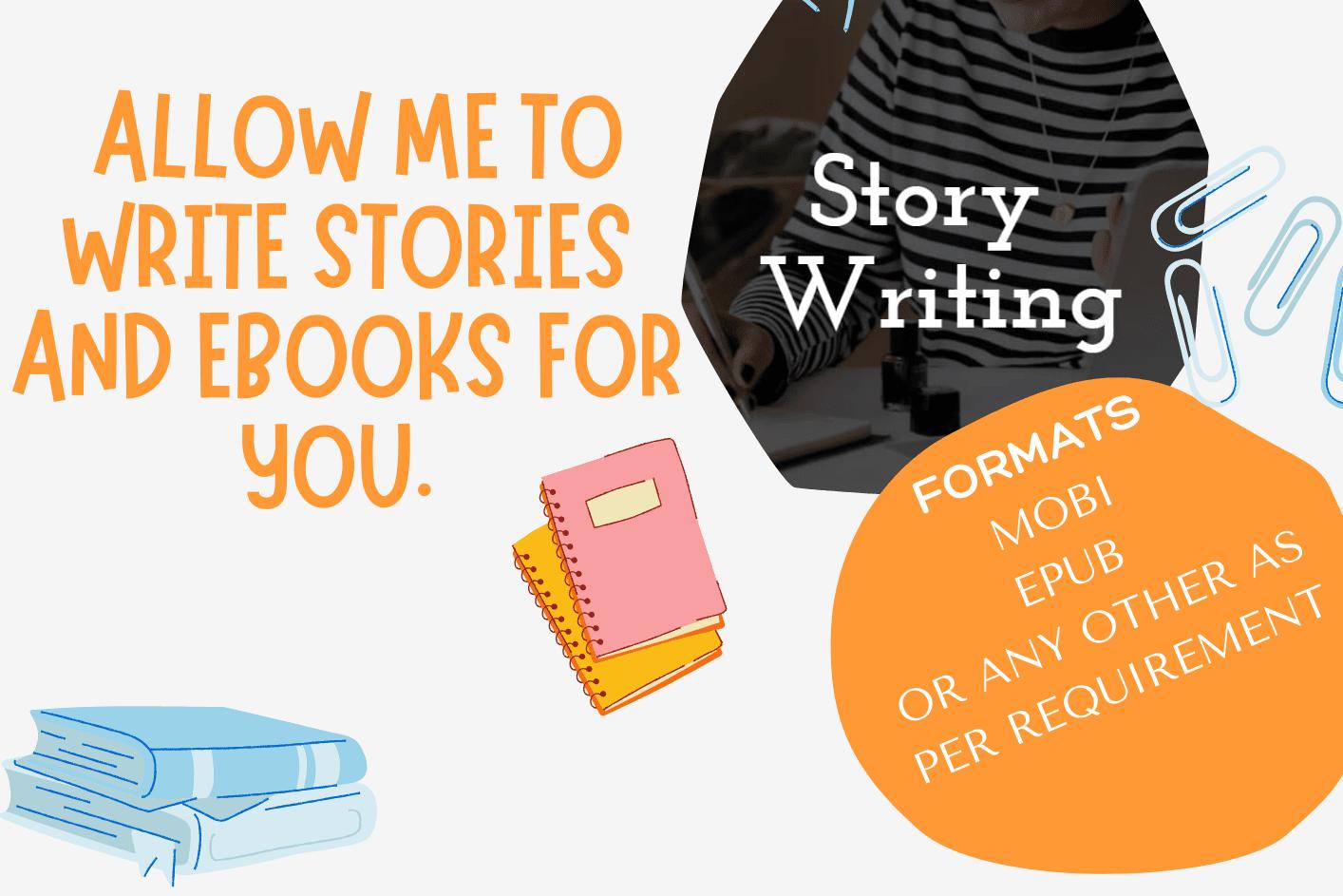 Portfolio for Story/ eBook writing