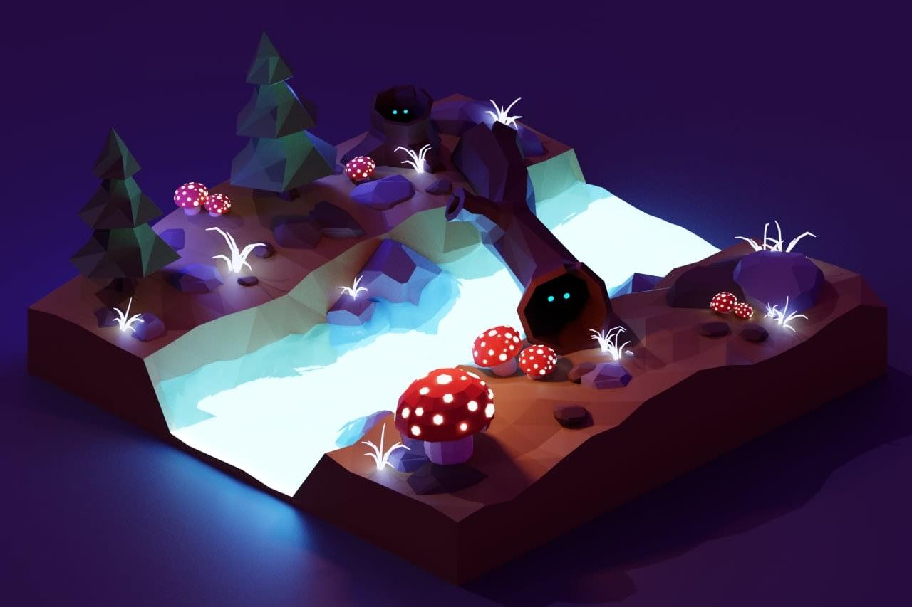 Portfolio for 3D Artist(Blender|3D Max)