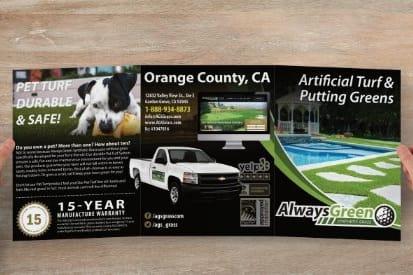 Portfolio for Professional Tri- Fold Brochures $149
