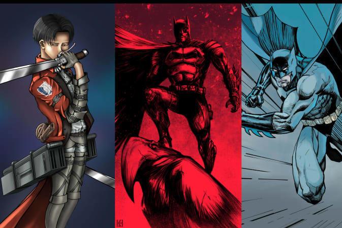 Portfolio for comic art, comic book, anime, manga