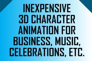 Portfolio for Video Creator (3D Animation)