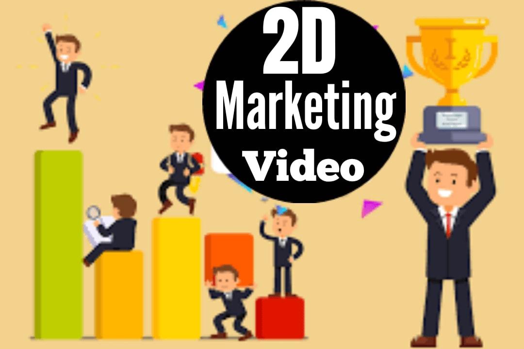Portfolio for I will create custom 2d explainer video