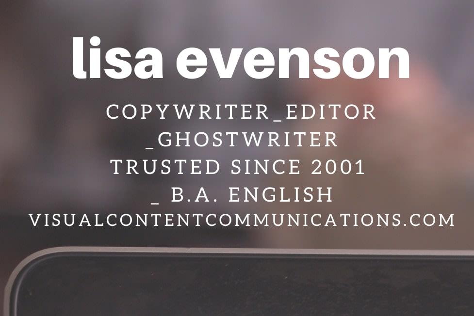 Portfolio for Full-service Copywriting & Editing