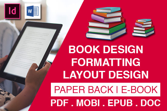 Portfolio for Book Formatting and Layout Design