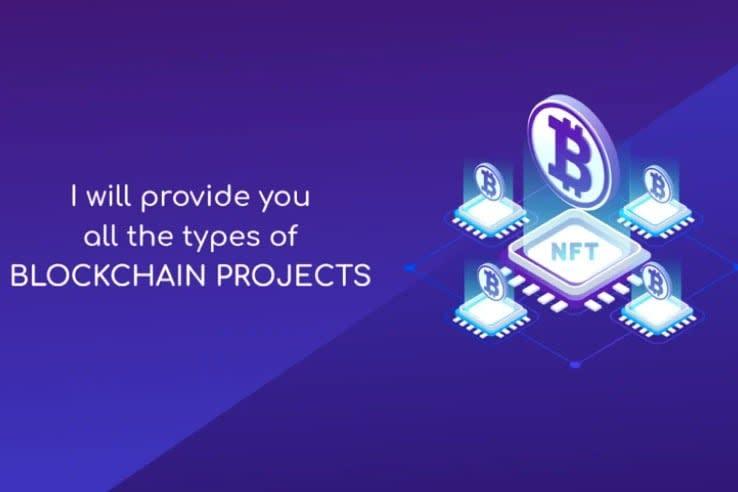 Portfolio for Blockchain based websites and apps