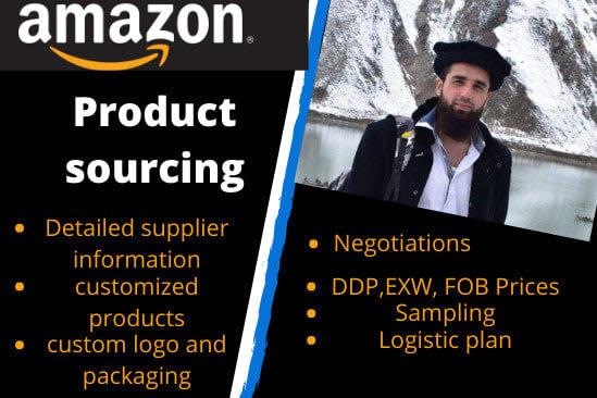 Portfolio for Product sourcing agent, amazon fba