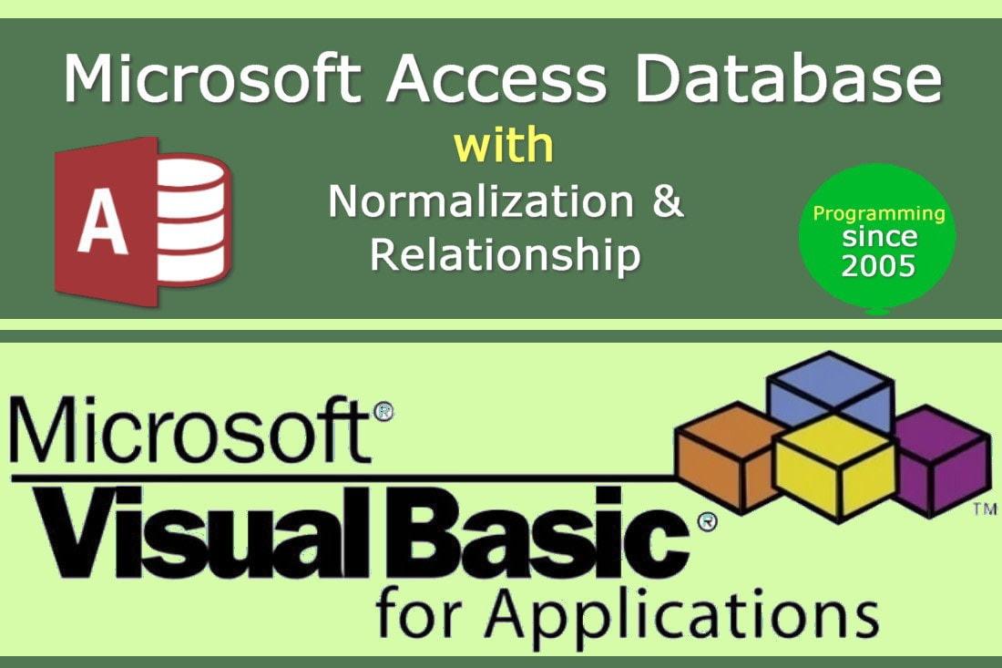 Portfolio for Database Design | Microsoft Access