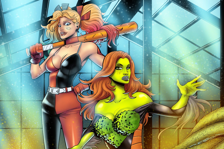 Portfolio for Comic book artist/illustrator
