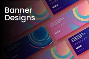 Portfolio for Banner Design| Creative & Custom Designs