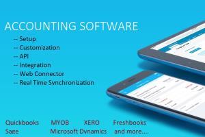 Portfolio for Accounting Software Integration