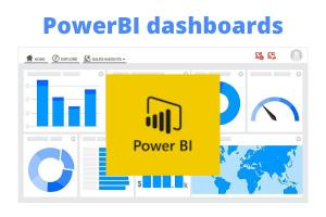 Portfolio for PowerBI developer. Power BI dashboards