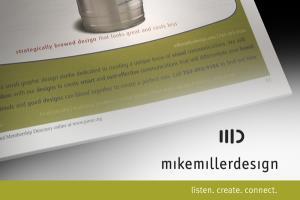 Portfolio for ad design