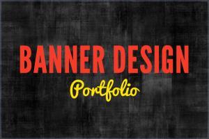 Portfolio for Banner Design - Static / Animated