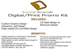Portfolio for Digital/Print Promo Kit