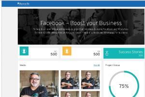 Portfolio for FB Dashboard, Angular, Angular Material