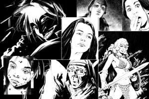 Portfolio for Comic art