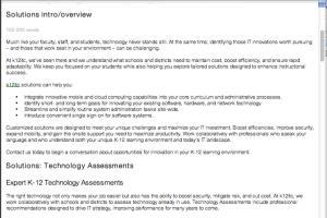 Portfolio for Copywriting for Education and Training