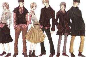 Portfolio for Fashion sketches (5-6 figures)