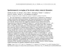 Portfolio for Scientific/Technical Writing