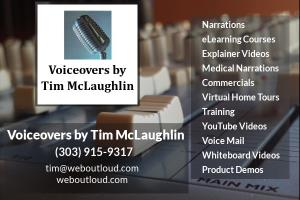 Portfolio for Voiceovers