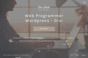Portfolio for Wordpress Custom Theme Creation - Divi