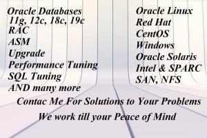 Portfolio for Solaris OS Administration (Unix Admin)